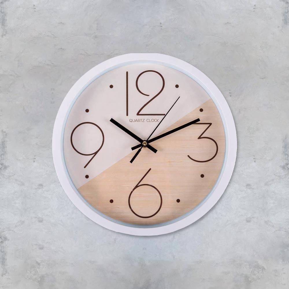 Relógio de Parede 30x4,3cm Concepts Life - Branco