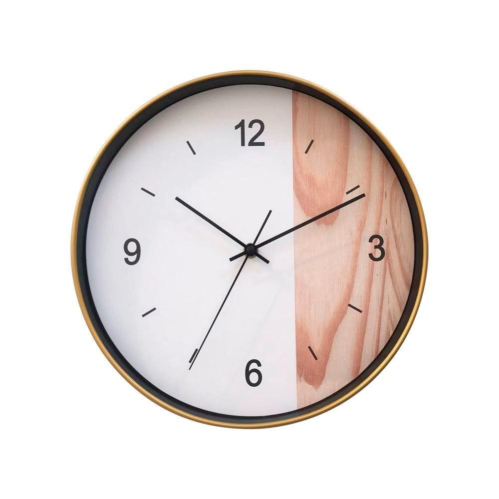 Relógio De Parede 30X3,5Cm Solecasa - Amadeirado