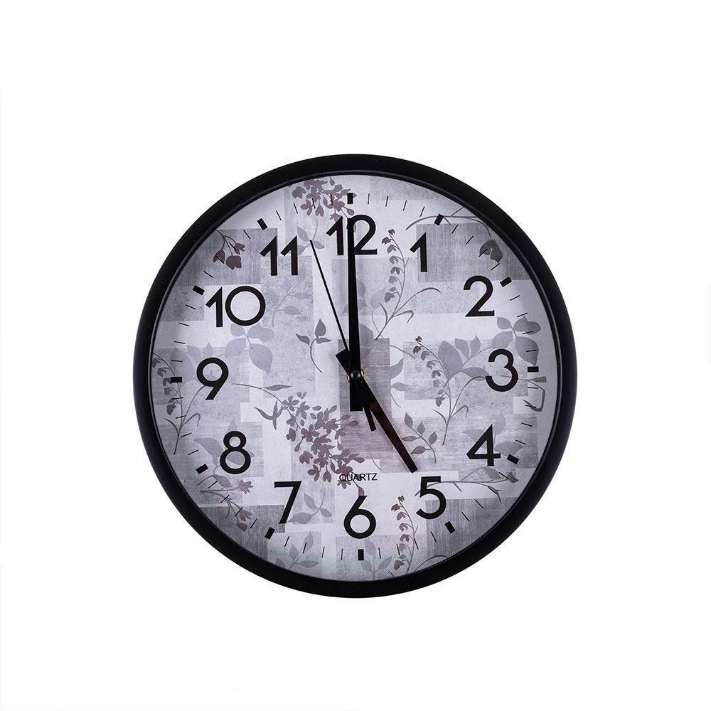 Relógio De Parede 32X4cm Solecasa - Preto