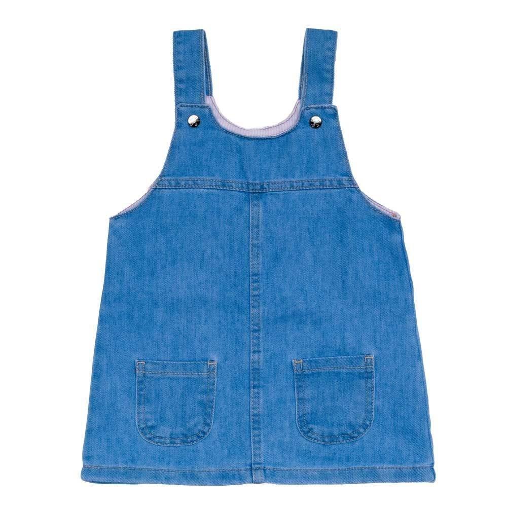 Salopete 1 a 3 anos Jeans + Bolsos Yoyo Kids