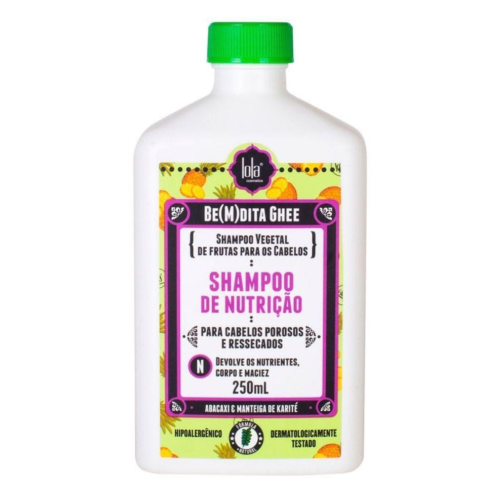 Shampoo Nutrição Bemdita Ghee Lola - 250ml