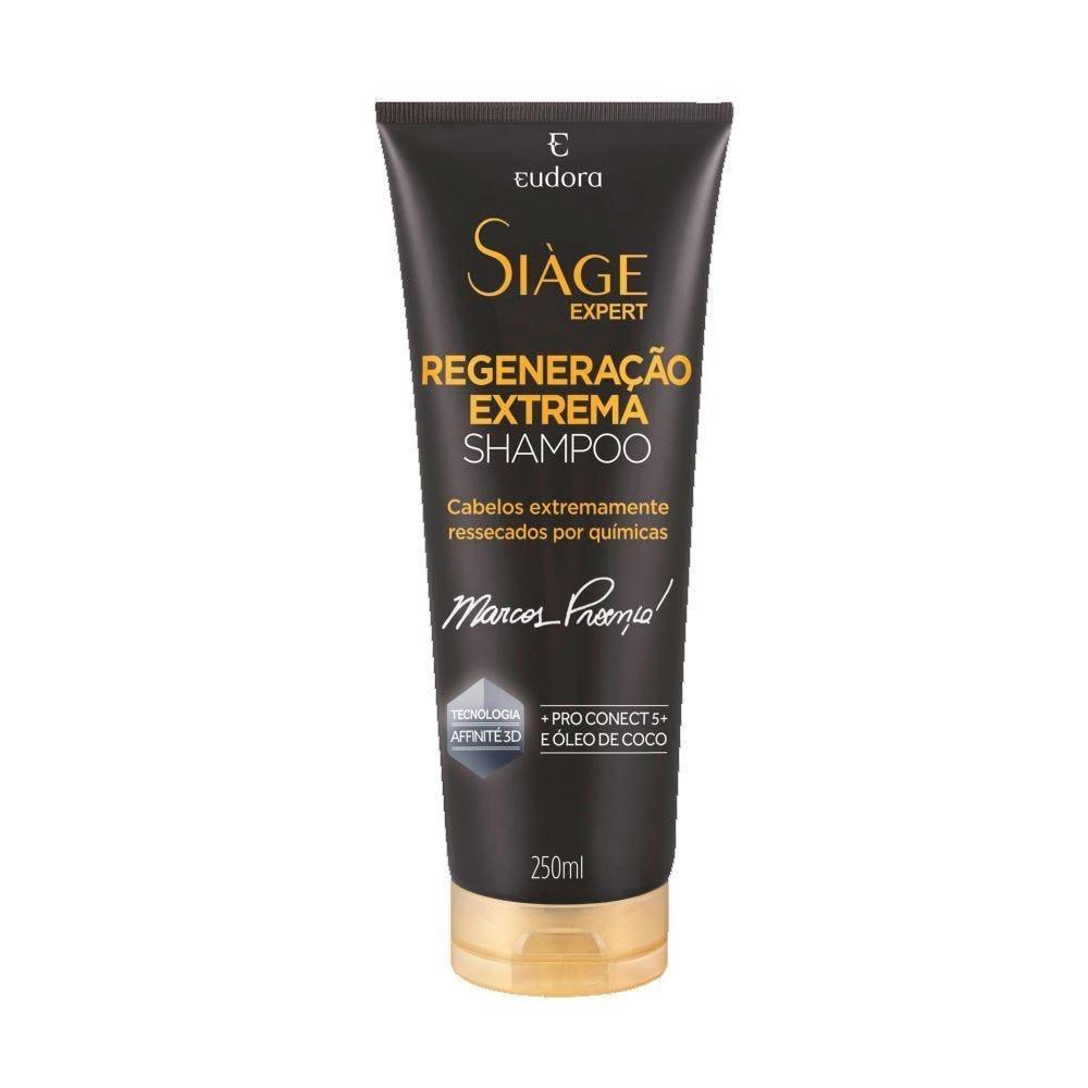 Shampoo Regeneração Extrema Siáge Eudora - 250ml