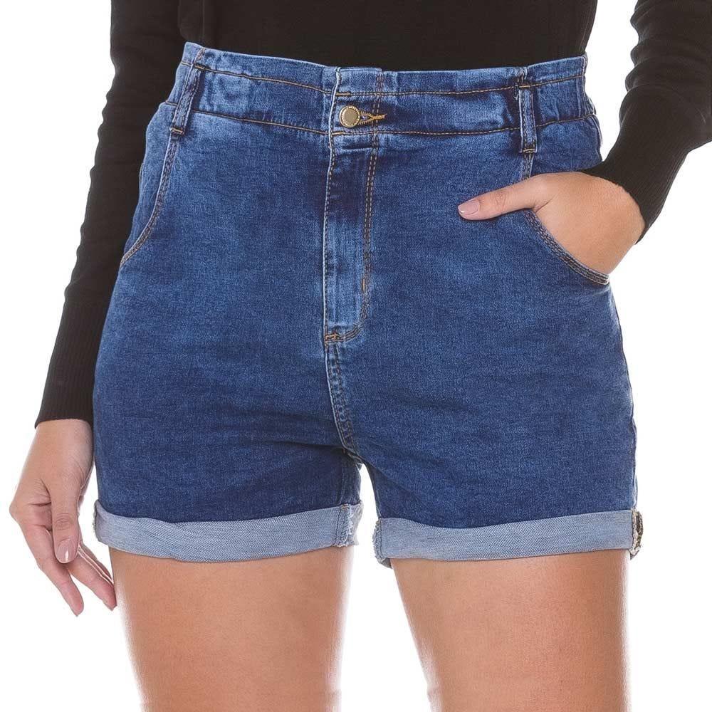 Short Jeans Barra Dobrada Zune By Sabrina Sato