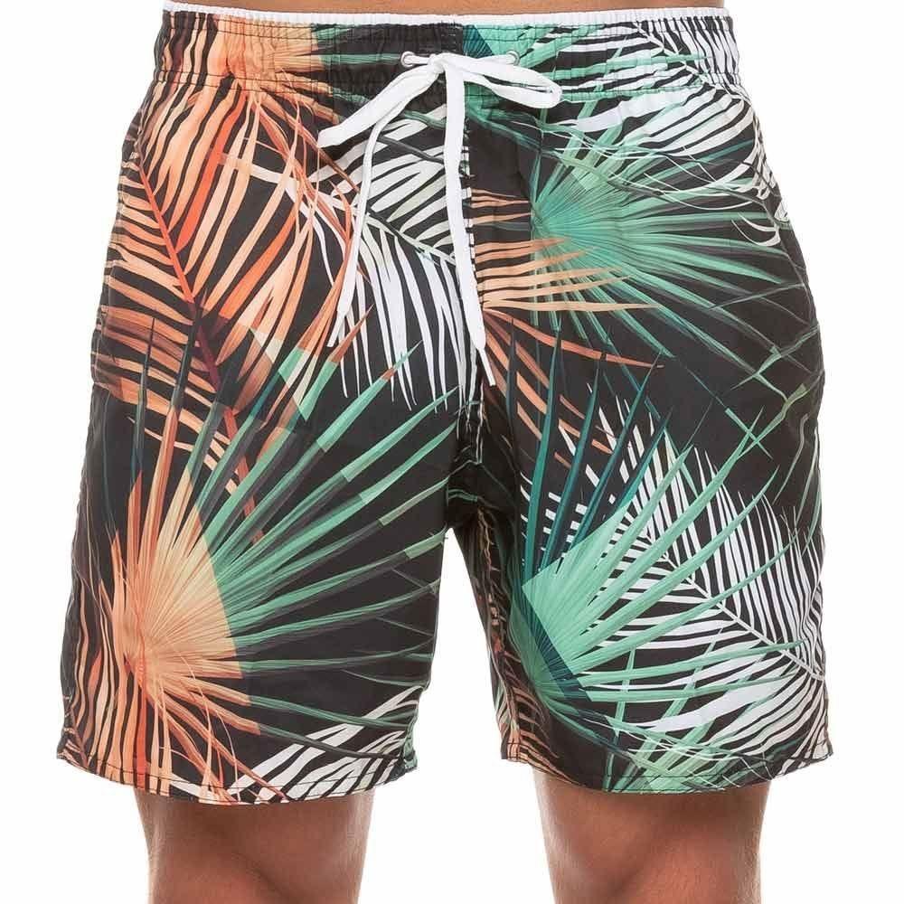 Shorts Tactel Estampado Marc Alain