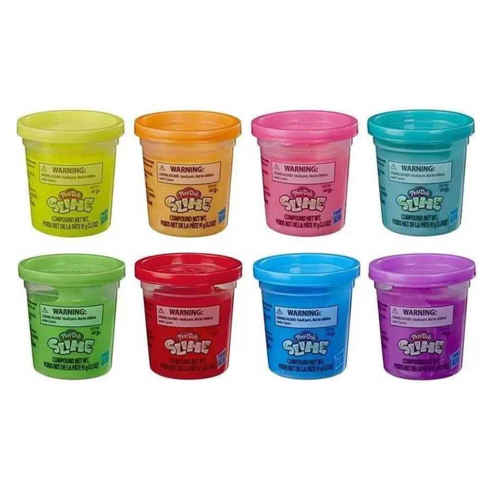 Slime Play Doh Hasbro Slime Pote Unitario E Cor Sortida - E-8790