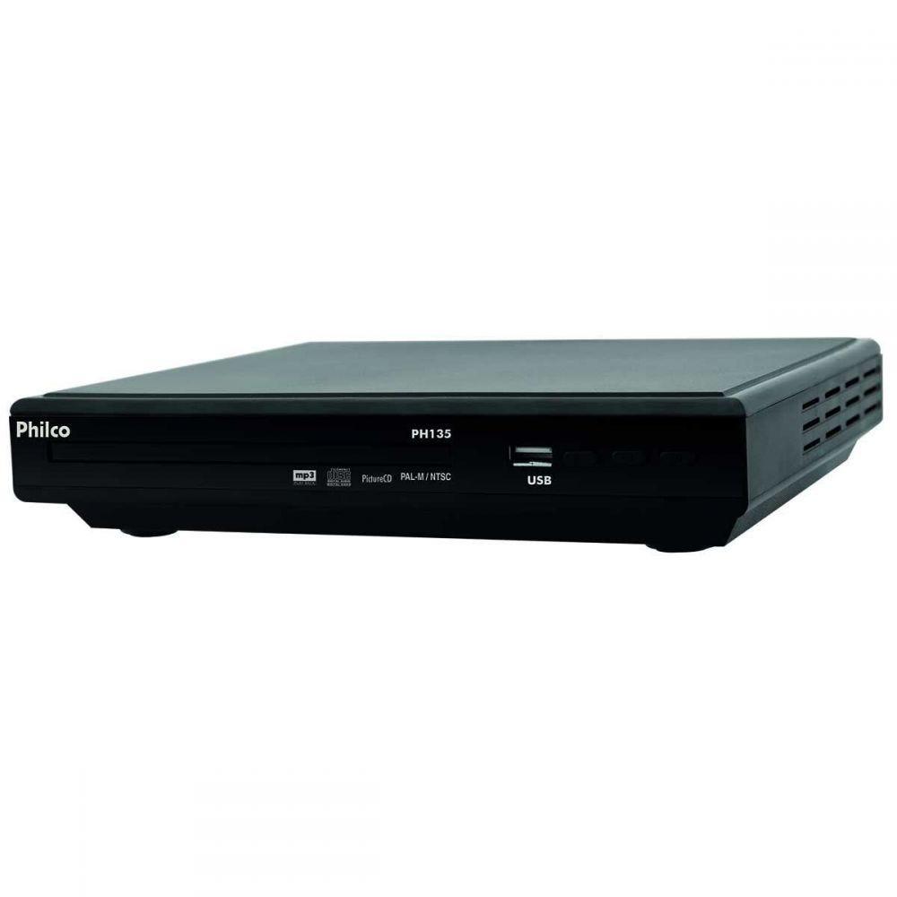 SV VCD Player Entrada USB PH135 Bivolt Preto Philco - DIVERSOS