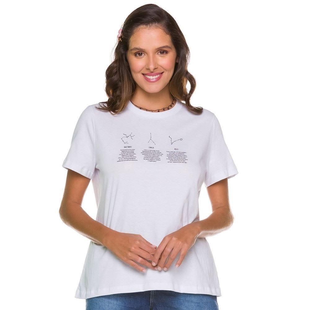 T-shirt Constelações Signos Patrícia Foster
