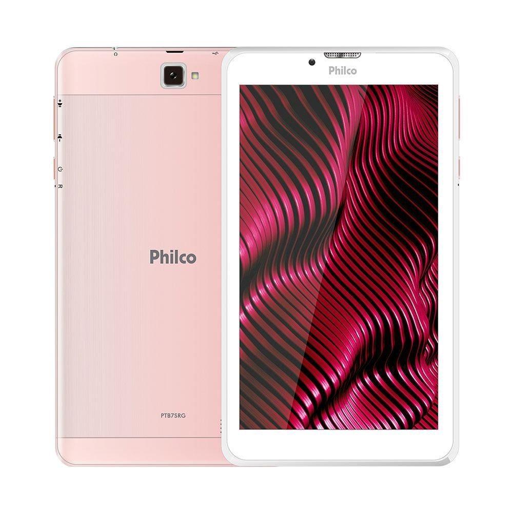 Tablet Philco Ptb7srg Rosa 8gb 3g