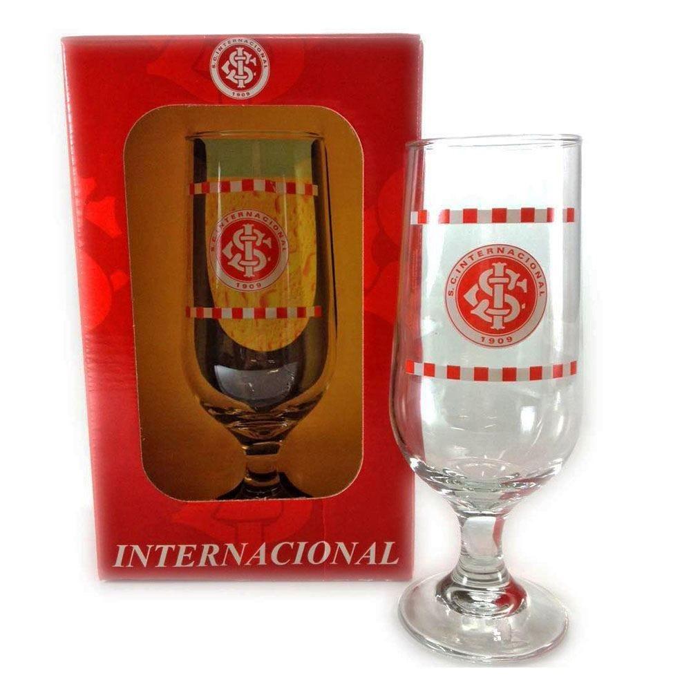 Taça De Cerveja Krystalmix De Times 300Ml - Internacional