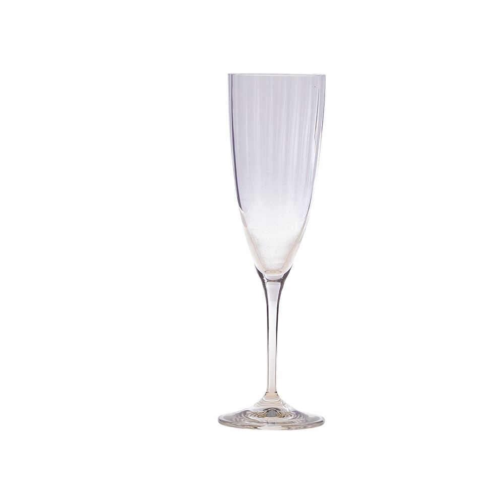 Taça De Champanhe Kate Optic 220Ml Bohemia - Transparente