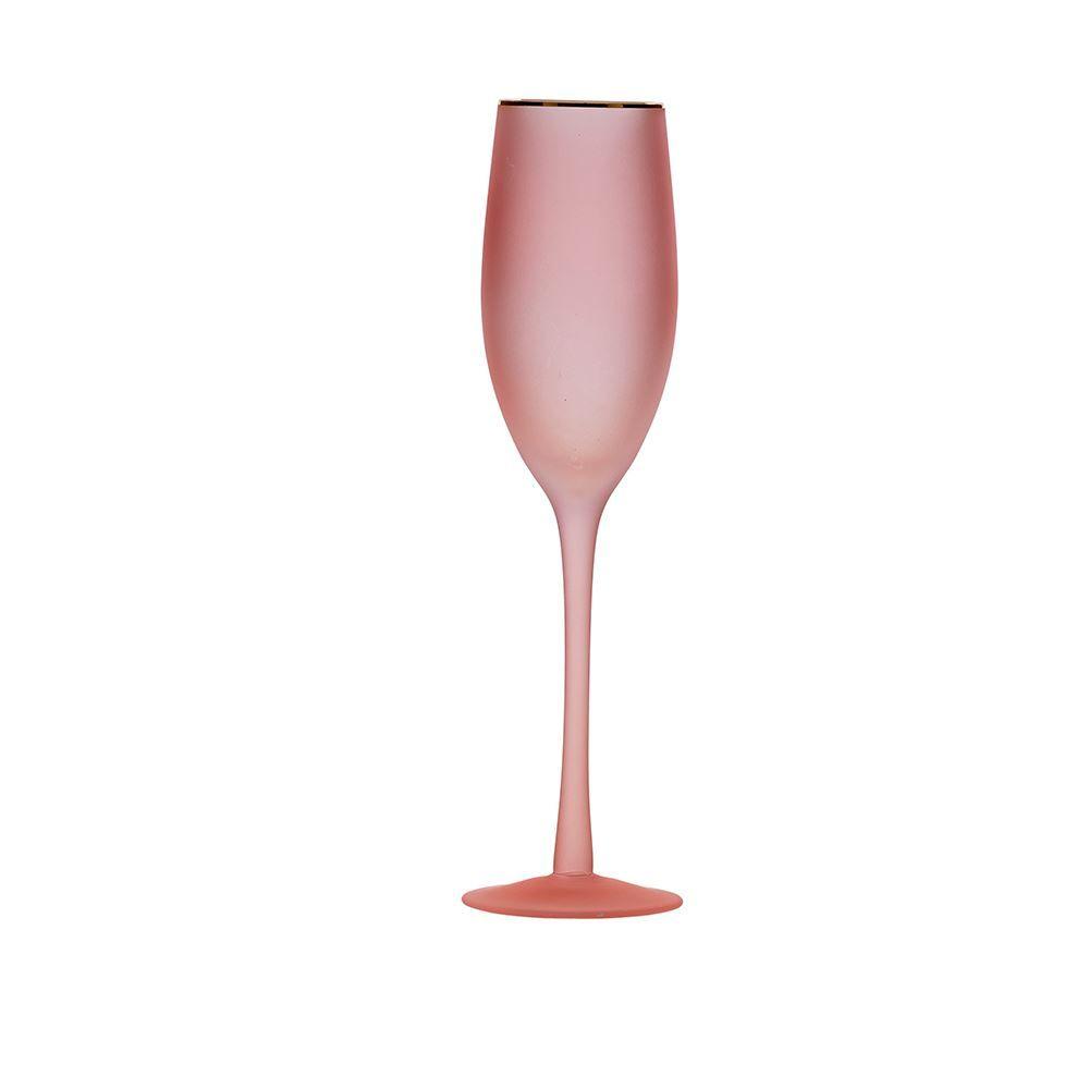 Taça De Champanhe Paris 250Ml Finecasa - Rosa