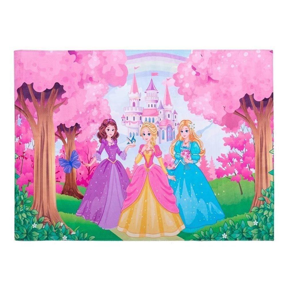 Tapete Infantil 80X125cm Havan - Princesas