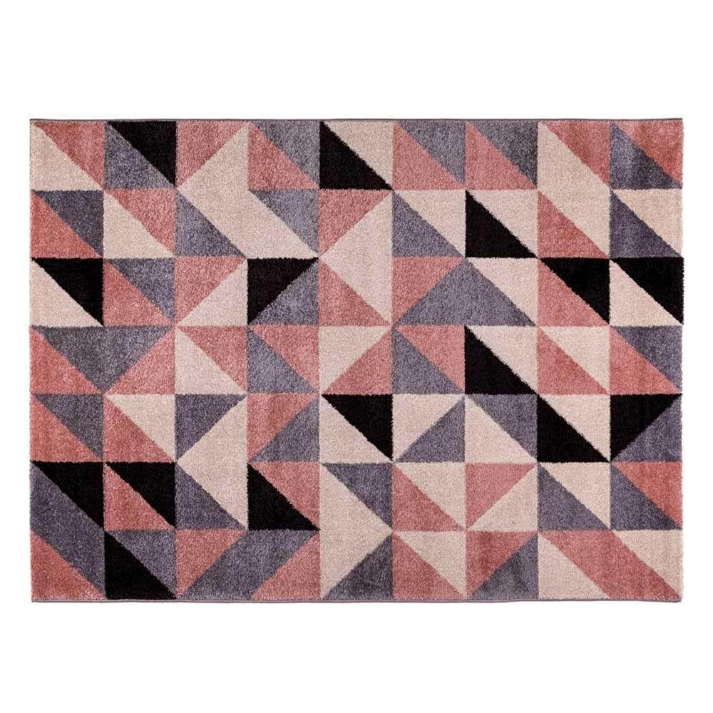 Tapete Magnifique 1,33X1,90M Havan - Triângulos Rose