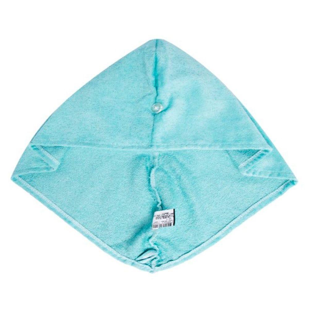 Touca de Banho Veludo Sofisticata - Azul Doce