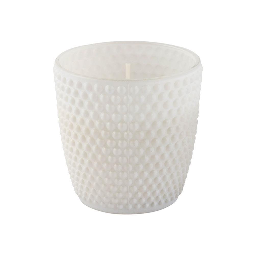 Vela Aromática Em Vaso - Branco