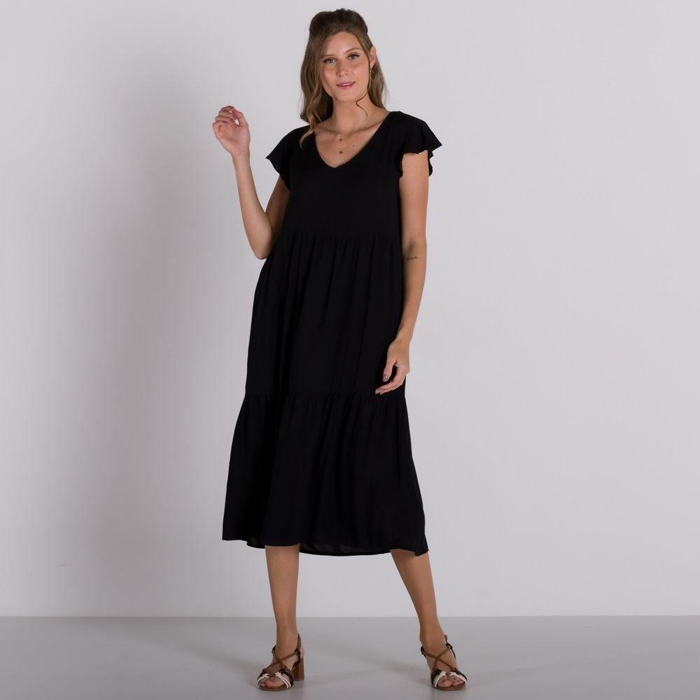 Vestido Recorte Maria Patricia Foster