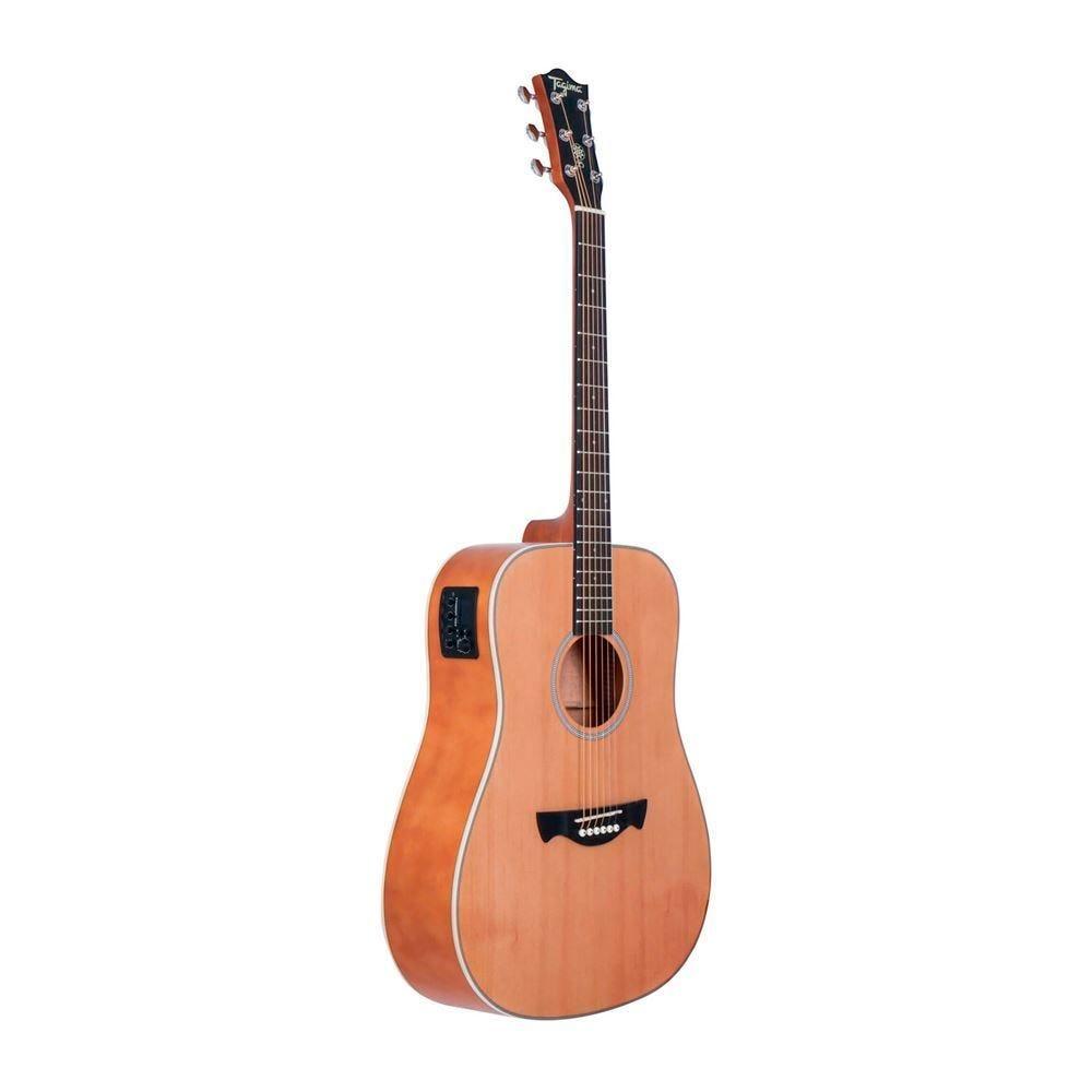 Violão Elétrico Folk Tw-25 Com Afinador Tagima - Natural Satin
