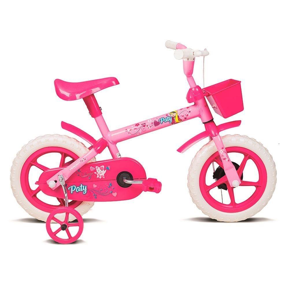 Bicicleta Verden Paty Aro 12 Rígida 1 Marcha - Lilás/rosa