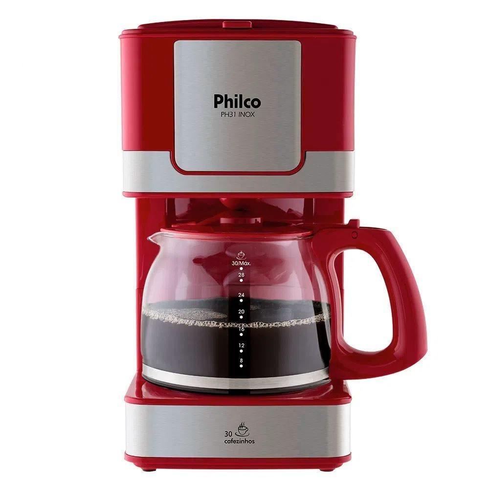 Cafeteira Elétrica Philco Preto 110v - Ph31
