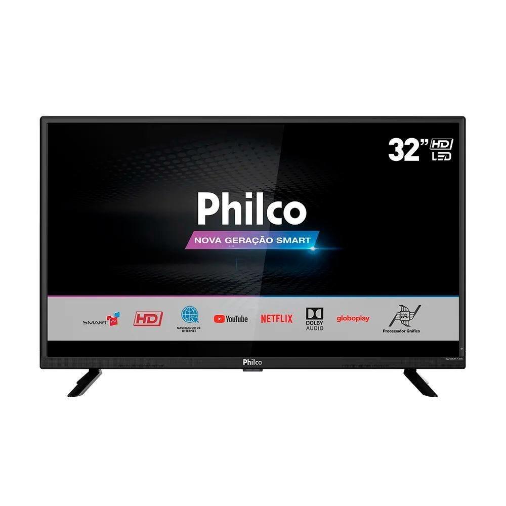 "Tv 32"" Led Philco Hd Smart - Ptv32g52s"