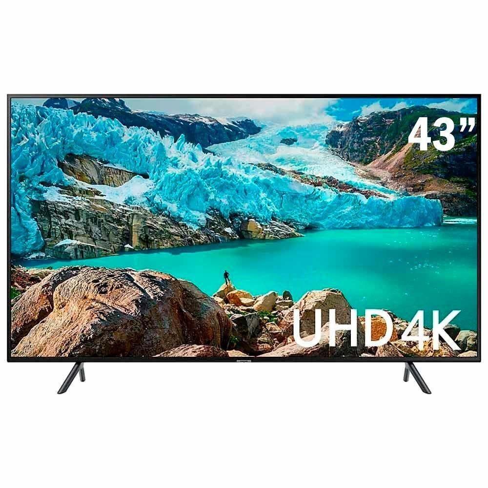 "Tv 43"" Led Samsung 4k - Ultra Hd Smart - Un43ru7100"