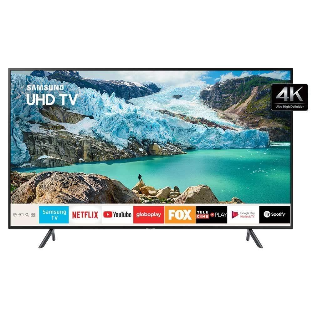 "Tv 50"" Led Samsung 4k - Ultra Hd Smart - Un50ru7100"