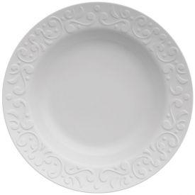 Prato Fundo Tassel 23,5Cm - Branco