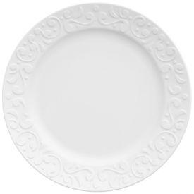 Prato Sobremesa Tassel 20,5Cm - Branco