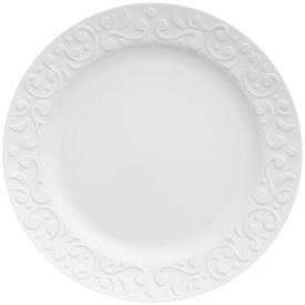 Prato Raso Tassel 26,5Cm - Branco