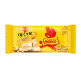 Tablete Garoto Opereta Castanha Caju 90G - 90g