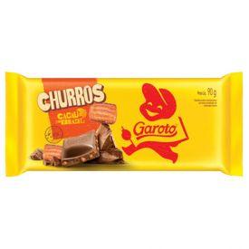 Tablete Garoto Churros 90G - 90g