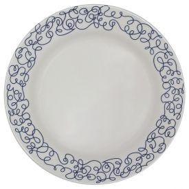 Prato Raso Donna Geo 24Cm - Cerâmica