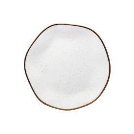 Prato Sobremesa Ryo Maresia 21,5Cm - Porcelana