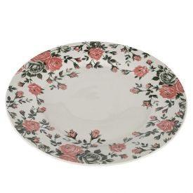 Prato Sobremesa Pink Garden 19,5Cm - Porcelana
