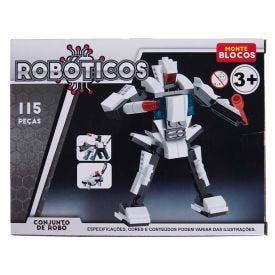 Blocos Hme1410 Robo 115Pcs - HME1410