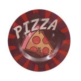 Prato Melamina Estampado 20Cm - Pizza