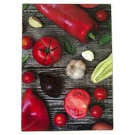 Tabua Corte Vidro 35Cm - Vegetais