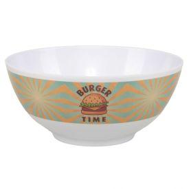 Bowl Melamina Estampado 13,5Cm - Burger Time