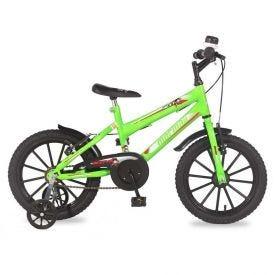 Bicicleta Aro16 Next Verde Neon Mormaii - 202070101014201