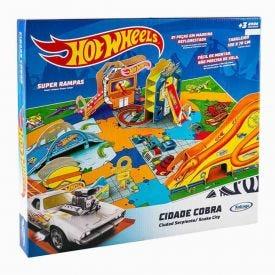 Playset 23209 Cidade De Cobra Hot Wheels -  23209