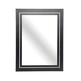 Espelho Liso 25X35cm - Preto