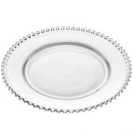 Prato Raso Pearl 28Cm - Cristal