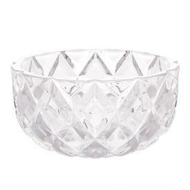 Centro Mesa Deli Diamond 18X10cm - Cristal