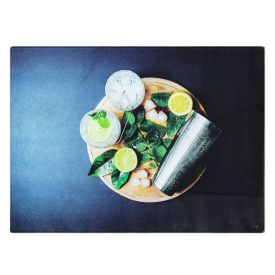 Tabua Corte Vidro 30Cm - Drinks