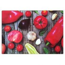 Tabua Corte Vidro 30Cm - Vegetais