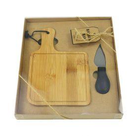 Conjunto Queijo Bambu 2Pc - Bambu