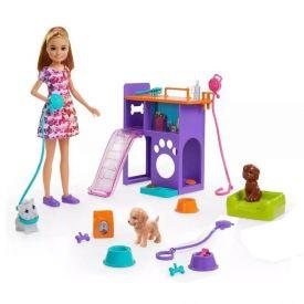 Boneca Barbie Mattel Stacie Filhotinhos Pet - GFF48
