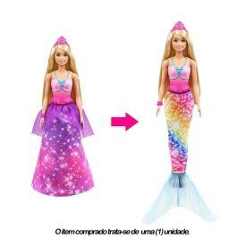 Barbie Gtf92 Dreamtopia Barbie Princesa 2 Em 1 - GTF92