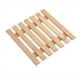 Descanso Panela Bambu 17X17cm - Bambu