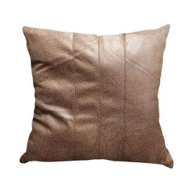 Almofada 48X48cm Cotton Havan - Laminado Marrom